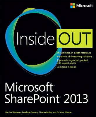 Microsoft Sharepoint 2013 Inside Out Cover Image