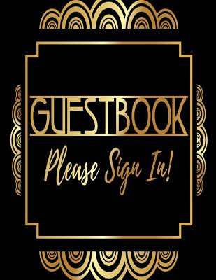 Guest Book Please Sign In: Visitor Log Book & Register, Login Notebook, Record Guest Sign-In, Register Book. Includes Sections For Date, Visitor, Cover Image