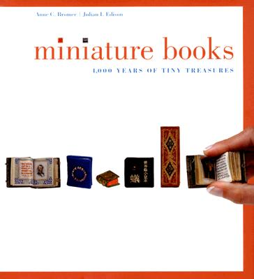 Miniature Book: 4,000 Years of Tiny Treasures Cover Image