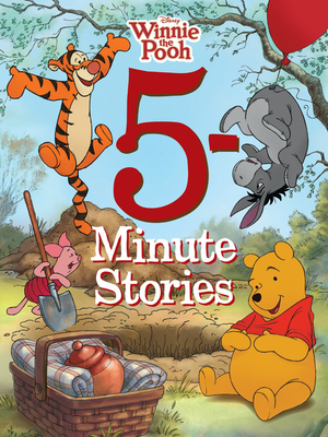 5-Minute Winnie the Pooh Stories (5-Minute Stories) Cover Image