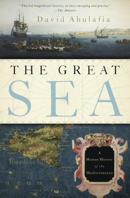 The Great Sea: A Human History of the Mediterranean Cover Image