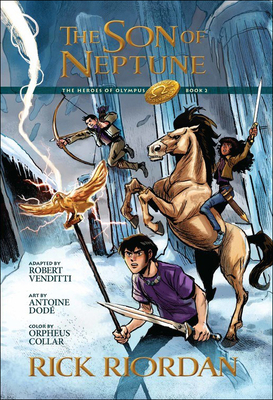 Son of Neptune: The Graphic Novel (Heroes of Olympus) Cover Image