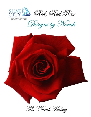 Red Red Rose Cross Stitch Pattern (DE001) Cover Image