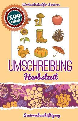 Umschreibung Herbstzeit: Seniorenbeschäftigung - Rätsel Cover Image