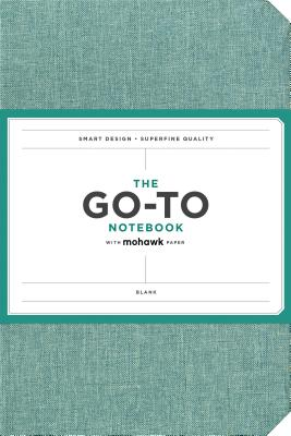 Go-To Notebook with Mohawk Paper, Sage Blue Blank: (Blank Notebook, Simple Notebook, Basic Notebook) Cover Image