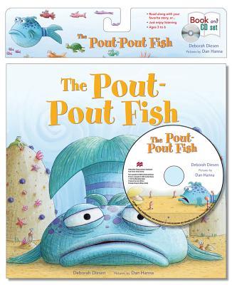 The pout pout fish book cd set compact disc square for The pout pout fish book