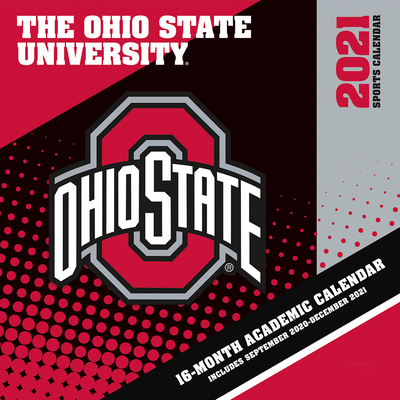 Ohio State Buckeyes 2021 12x12 Team Wall Calendar Cover Image
