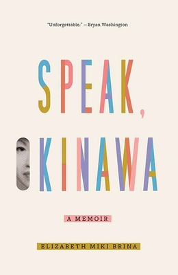 Speak, Okinawa: A Memoir Cover Image