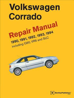 Volkswagen Corrado (A2) Repair Manual: 1990-1994 Cover Image