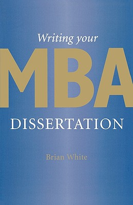 Writing Your MBA Dissertation Cover Image