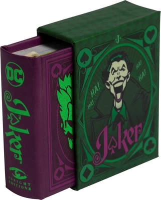 DC Comics: The Joker: Quotes from the Clown Prince of Crime (Tiny Book)  Cover Image