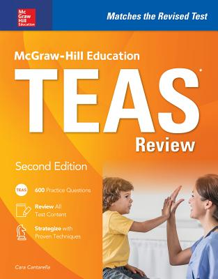 McGraw-Hill Education Teas Review, Second Edition Cover Image
