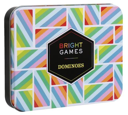 Bright Games Dominoes: (Dominoes Set, Dominoes Game, Family Game Night Games) Cover Image