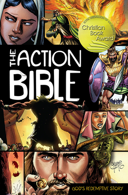 The Action Bible: God's Redemptive Story (Action Bible Series) Cover Image