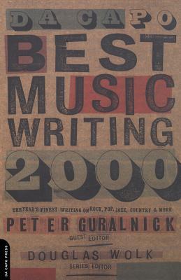 Da Capo Best Music Writing 2000 Cover