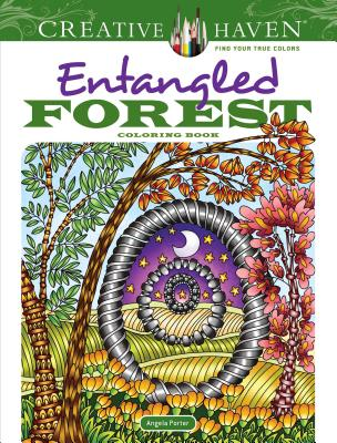 Creative Haven Entangled Forest Coloring Book (Creative Haven Coloring Books) Cover Image