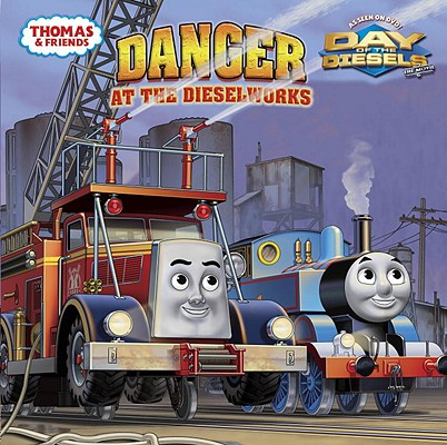 Danger at the Dieselworks Cover