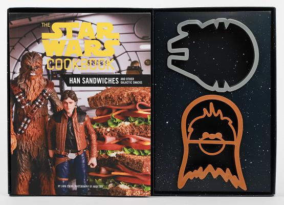 The Star Wars Cookbook: Han Sandwiches and Other Galactic Snacks Cover Image