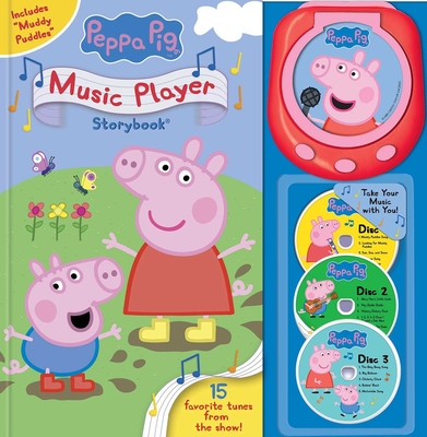 Peppa Pig: Music Player (Music Player Storybook) Cover Image