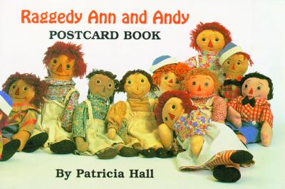 Raggedy Ann and Andy Postcard Book Cover Image