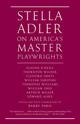 Stella Adler on America's Master Playwrights Cover