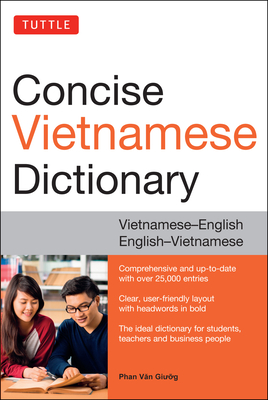 Tuttle Concise Vietnamese Dictionary: Vietnamese-English English-Vietnamese Cover Image