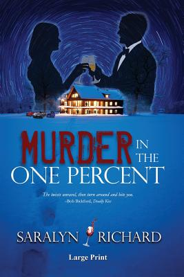 Murder in the One Percent Large Print Cover Image