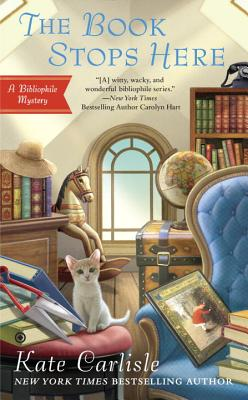 The Book Stops Here (Bibliophile Mystery #8) Cover Image