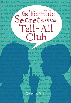 The Terrible Secrets of the Tell-All Club Cover