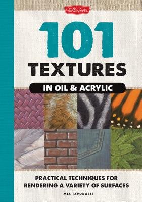 101 Textures in Oil & Acrylic Cover