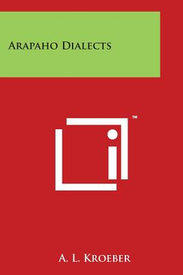 Arapaho Dialects Cover Image