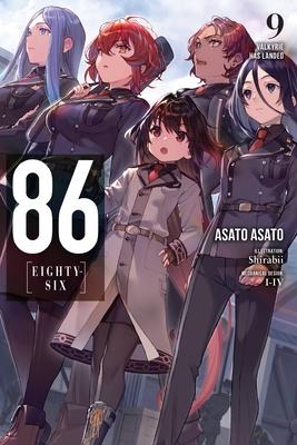 86--EIGHTY-SIX, Vol. 9 (light novel): Valkyrie Has Landed (86--EIGHTY-SIX (light novel) #9) Cover Image