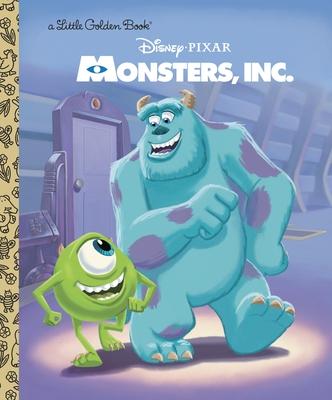 Monsters, Inc. Little Golden Book (Disney/Pixar Monsters, Inc.) Cover Image
