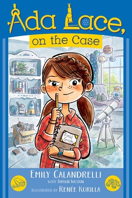 Ada Lace, on the Case (An Ada Lace Adventure #1) Cover Image