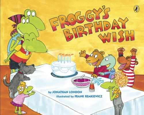 Froggy's Birthday Wish Cover Image