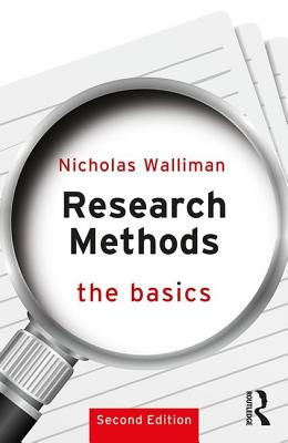 Research Methods: The Basics: 2nd edition Cover Image