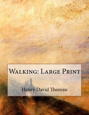 Walking: Large Print Cover Image