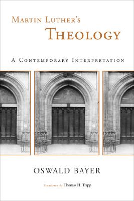 Martin Luther's Theology Cover