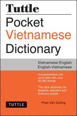 Tuttle Pocket Vietnamese Dictionary: Vietnamese-English / English-Vietnamese Cover Image