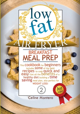 Low-Fat Air Fryer Breakfast Meal Prep Cover Image