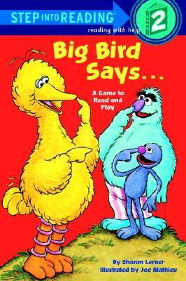 Big Bird Says... (Sesame Street) Cover