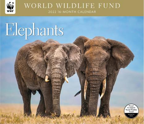 Elephants WWF 2022 Wall Calendar Cover Image