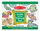 Jumbo Coloring Pad - Animal Cover Image