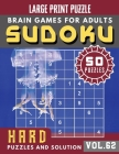 Hard Sudoku Puzzles and Solution: sudoku puzzle books challenging - Sudoku Hard Quiz Books for Expert - Sudoku Maths Book for Adults & Seniors - (Sudo Cover Image