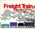 Freight Train Board Book Cover Image