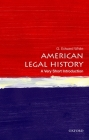 American Legal History (Very Short Introductions) Cover Image
