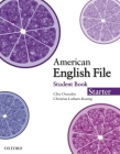 American English File Starter Student Book Cover Image