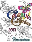 Coloring Calendar 2017 Butterflies Cover Image