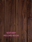 Notary Record Book: Notary Public Gag Gifts Cover Image