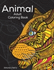 Animal Adult Coloring Book: Stress Relieving Designs to Color, Relax and Unwind Cover Image